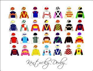 kentucky derby colors jockeys the kentucky industry