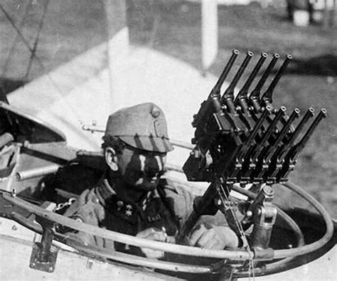 Austro-hungarian Aircraft Gunner With An Arranged Anti