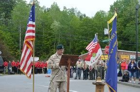 speaker touches on history of the stripes at