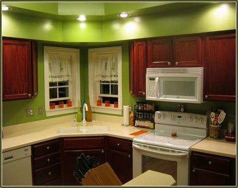 best paint colors for kitchen with cherry cabinets home