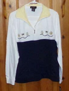 Womens' Nauticalnavy Themed Topsweatshirt Ebay
