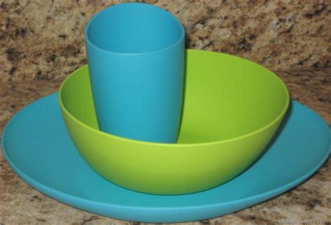 plastic dishes dinnerware acrylic anti zoe plate piece