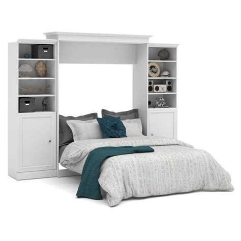 Bestar Wall Beds by Bestar Versatile 115 Wall Bed With 2 2 Door