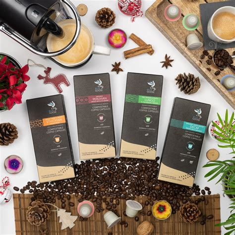 Don't be fooled by getting an iced coffee at starbucks and paying almost four bucks. Blue Goose - Eco-Friendly Christmas Gifts For Coffee Lovers - Grow