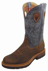 pungo ridge twisted x men39s lite cowboy work boots w With cowboy safety boots