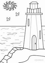 Coloring Lighthouse Jesus Dessin Sheets Colouring Phare Lighthouses Printable Drawing Sheet Adult Crafts Enfant Trait Batiment Cool2bkids Adults Bing Pattern sketch template