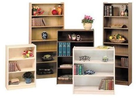 Melamine Bookcases  Thriftway Furniture