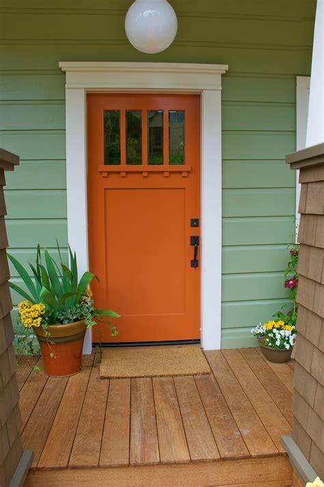 pumpkin colored front doors front door freak