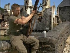 Barry Pepper as Private Jackson from Saving Private Ryan ...