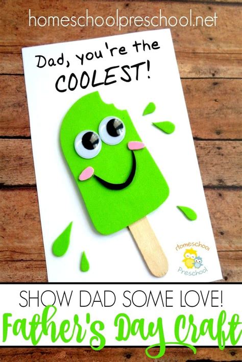 easy diy fathers day craft   kids