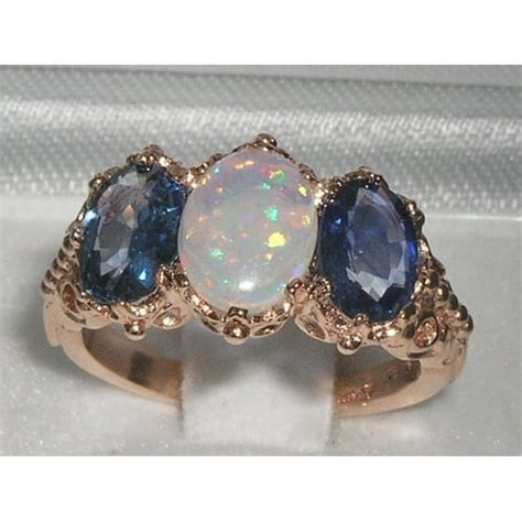 9k Rose Gold Genuine Fiery White Opal & Light Blue. Pretty Pink Engagement Rings. Loose Rings. Super Cool Engagement Rings. Montana Silver Wedding Rings. Vvs Diamond Wedding Rings. Country Engagement Rings. Asscher Rings. Trendy Rings