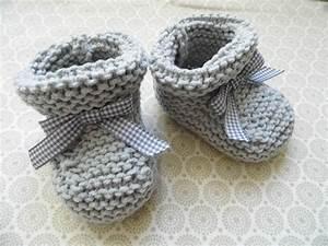 Modele De Tricotin Facile : modele tricot facile chaussons bebe ~ Melissatoandfro.com Idées de Décoration