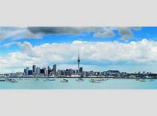 A Beautiful City in New Zealand Auckland Fotolipcom