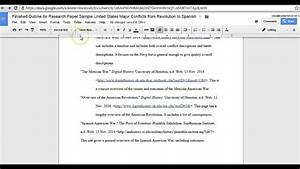 fixing hanging indents in works cited google docs youtube With how to work google documents