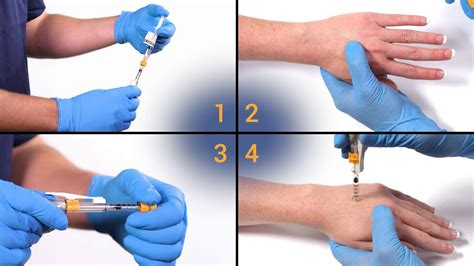 needle  injection   tip training video youtube