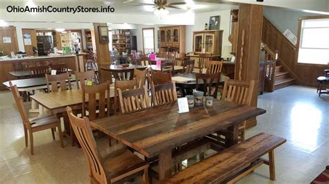 amish furniture ohio amish country stores