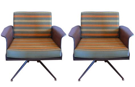 Ethan Allen Swivel Club Chairs by Mid2mod Baumritter Corporation