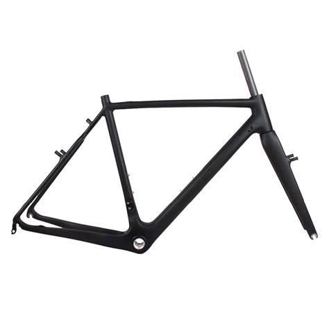dengfu cyclocross frame fork disc brake carbon fiber material cadre cyclo cross carbone view