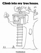 Coloring Tree Magic Pages sketch template