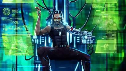 Cyberpunk 2077 Wallpapers Keanu Reeves Artwork 4k