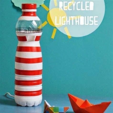 die besten  lampen aus plastikflaschen basteln ideen