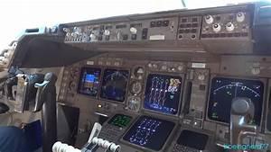 In the Cockpit of British Airways Boeing 747-436 - YouTube