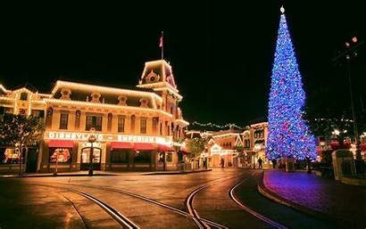 Disneyland Desktop Background Christmas Resolution Cool Hong