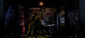 FNaF 1 Office With All Animatronics (Mini Edit) by ...