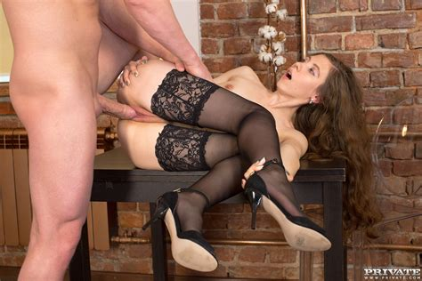 Russian Teen Stefany Gets Banged In Stockings Web Porn Blog