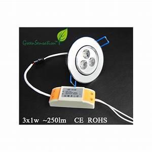 Transformateur Pour Led 12v : spot encastrable et orientable led avec transformateur ~ Edinachiropracticcenter.com Idées de Décoration