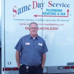 day service plumbing heating air