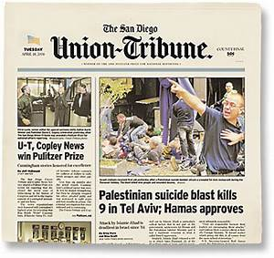 San Diego Union-Tribune Editorial: Vote No on Prop 8 ...