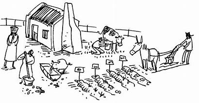 Farming Subsistence Clipart Commercial Drawing Farmer Agriculture