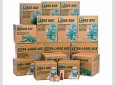 UHaul moving supplies Boxes