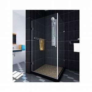 Cabine De Douche En Verre : cabine de douche en inox poli ferrure verre ~ Zukunftsfamilie.com Idées de Décoration