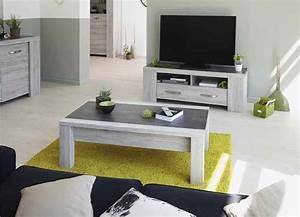 meuble tele en couleur bois gris contemporain 135cm malone With salle a manger malone