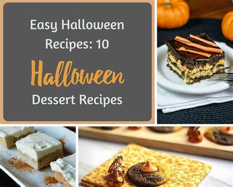 easy recipes 10 dessert recipes