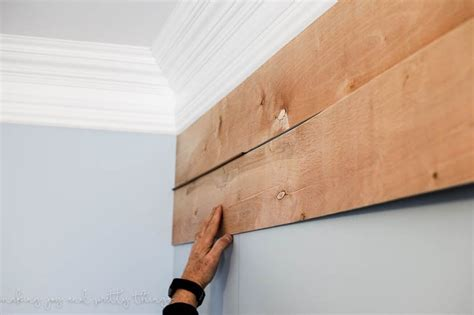 How To Plank A Wall For  (diy Shiplap