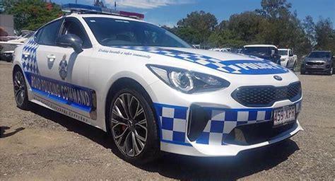 Australian Police Put The Kia Stinger On Patrol