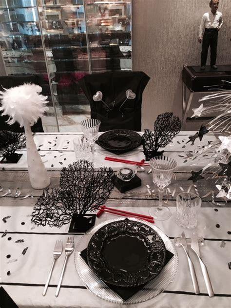 Schwarz Weiß Tischdeko by Eine Sch 246 Ne Tischdeko In Schwarz Wei 223 Partyfotos Unserer
