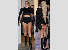 Check Out Lady GaGa's Booty In These Short Shorts
