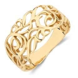 Yellow Gold Filigree Rings