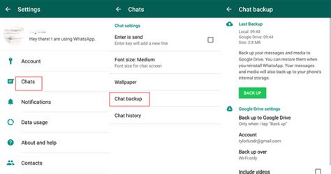 transfer whatsapp messages  android  android