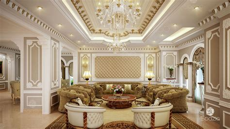 luxury classic interior design arabic majlis interior design in the uae spazio Luxury Classic Interior Design