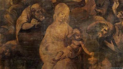 The gallery for --> Leonardo Da Vinci The Adoration Of The