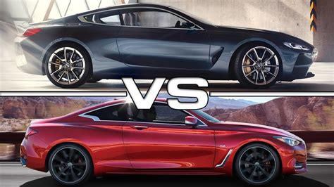 2019 Infiniti Q60 Coupe Convertible by 2018 Bmw 8 Series Vs 2017 Infiniti Q60 Coupe