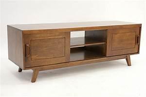 Meuble Tv Vintage : meuble tv en hva massif vintage de qualit meuble pour le salon lotusa ~ Teatrodelosmanantiales.com Idées de Décoration