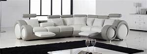 canape d39angle design With pierce canapé d angle en cuir relax