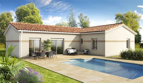 plan maison plain pied 100m2 3 chambres nos modèles de maisons traditionnelles demeures d