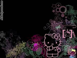 Hello Kitty Black And Pink | New Calendar Template Site